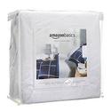 AmazonBasics Hypoallergenic Vinyl-Free Waterproof Mattress Protector