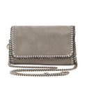 Stella McCartney Falabella Crossbody Bag - Light Gray