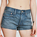 BDG Essential Mid-Rise Slim Denim Short