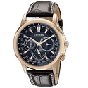Citizen Eco-Drive Men's BU2023-04E Calendrier Gold-Tone Watch