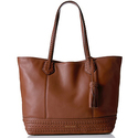 Cole Haan Rilla Tote - Woodbury Brown