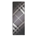 Burberry Ombre Check Silk Scard - Mid Grey