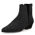 Isabel Marant Patsha Suede Stretch Ankle Bootie