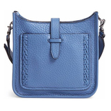 Rebecca Minkoff Mini Unlined Feed Bag with Whipstich, Azure