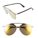 Dior Reflected 52mm Brow Bar Sunglasses on Sale