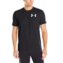 Under Armour Men's Whitetail Skull T-Shirt, Black/White, X-Large