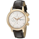 Tissot Men's Carson Swiss Automatic Watch With Brown Leather Band