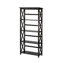 Casual Home 324-53 Montego 5-Tier Bookcase - Espresso