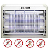 Fly Zapper, FORTECH Electric Indoor Bug and Fly Zapper, Fly Killer, Mosquito Killer, Insect Killer - 4W LED Light for Residential, Commercial and Industrial