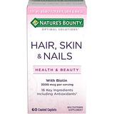 Nature's Bounty 头发,皮肤,指甲美容复合营养片(60片)