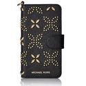 Michael Kors Micro Stud Folio Phn Cse Tab 7, Black