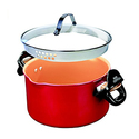 BulbHead Red Copper Better Pasta Pot