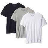 Tommy Hilfiger Men's Undershirts 3 Pack Cotton Classics V-Neck T-Shirt