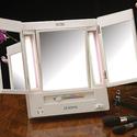 Jerdon 三折式LED化妆镜