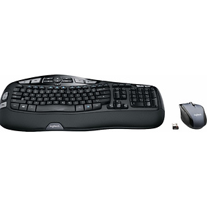 Logitech MK570 Comfort Wave Wireless Keyboard and Optical Mouse