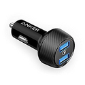 Anker Quick Charge 3.0 39W Dual USB Car Charger