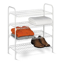 Honey-Can-Do SHO-01172 4-Tier Closet Accessory Shelf