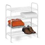 Honey-Can-Do SHO-01172 4-Tier Closet Accessory Shelf