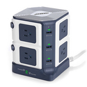 BESTEK 8端口+6 USB插口1500焦耳立式插排