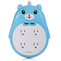 BESTEK Surge Protector Power Strip with USB