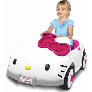 Dynacraft Hello Kitty 6V Battery Powered Ride On Car