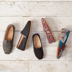 Toms: Up to 40% OFF Select Styles