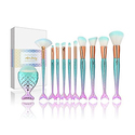 Apr.Fairy Mermaid Makeup Brushes Set