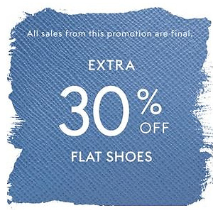 The Outnet: Flat Shoes Extra 30% Off