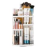 Jerrybox Makeup Organizer 360 Degree Rotation Adjustable Multi-Function Cosmetic Storage Box