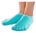 NatraCure 5-Toe Moisturizing Gel Socks