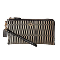COACH Women's Exploded Rep Double Zip Wallet