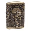 Zippo Steampunk Armor Antique Brass Pocket Lighter