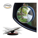 Ampper Round Blind Spot Mirrors - 2 Pack