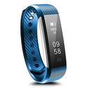 Amazon: Ronten R2BLUE Bluetooth Fitness Tracker Waterproof Activity Wireless Pedometer Smart Bracelet Wristband with Oled Touch Screen for IOS and Android Smartphone, Blue