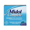 Midol Complete Gelcaps 24-Count Box