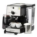 7 Pc All-In-One Espresso/Cappuccino Machine Bundle Set