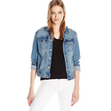 Calvin Klein Jeans Women's Embroidered Trucker Jacket