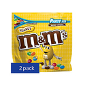 M&M'S Peanut Chocolate Candy Party Size 42-Ounce Bag - Pack of 2