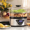 Hamilton Beach Digital Food Steamer 5.5 Quart