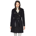 Cole Haan Women's Belted Asymmetrical Wool Coat