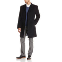 Tommy Hilfiger Men's Barnes 38 Inch Single Breasted Top Coat