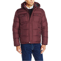 Tommy Hilfiger Men's Nylon Two Pocket Hooded Puffer Jacket