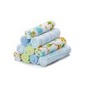 Spasilk Washcloths - Blue Tiger 10 Count