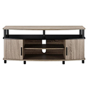 Ameriwood Home Carson TV Stand for 50-Inch TVs - Sonoma Oak