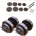 Walmart:Gold's Gym Vinyl Dumbbell Set, 40 lbs