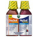 Vicks NyQuil and DayQuil SEVERE Cough Cold and Flu Relief Liquid