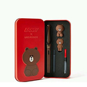 LAMY x LINE FRIENDS Safari Fountain Pen Limited Edition 2016 'Brown in the red'