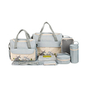 SOHO Collections 10 Pieces Diaper Bag Set