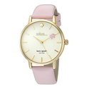 kate spade new york Leather Strap Metro Flying Pig Watch