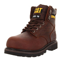 Caterpillar Men's Second Shift Steel Toe Work Boot,Dark Brown